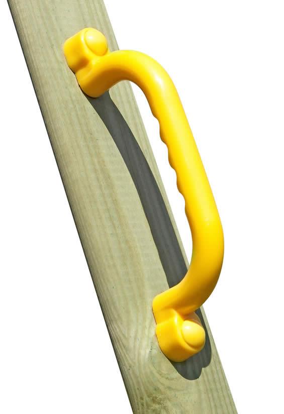 Kunststoffgriffe Set, gelb (2er-Set)
