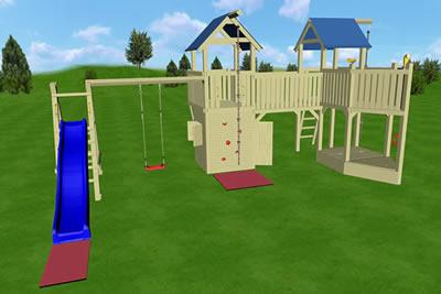 Plac zabaw dla dzieci, Big Jim, wariant 01