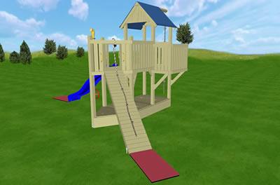 Plac zabaw dla dzieci, Spirit Walker, wariant 01